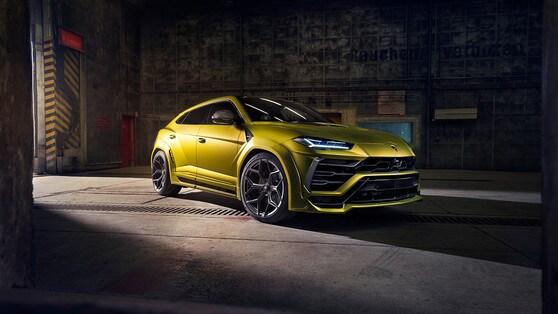 Lamborghini Urus, il tuning ti fa più potente