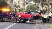 Lamborghini Diablo distrutta in un incidente