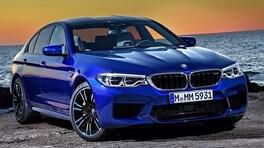 BMW M5, restyling in vista