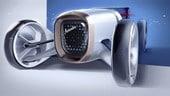 Vision Mercedes Simplex, retrò e futurista
