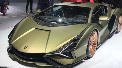 Lamborghini, Aventador verso un ibrido