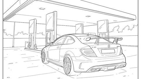 Immagini Di Macchine Da Colorare.Audi E Mercedes Per I Bambini In Regalo Disegni Da Colorare Auto It
