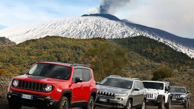 Jeep Experience Days, abbiamo scalato l'Etna - Auto.it