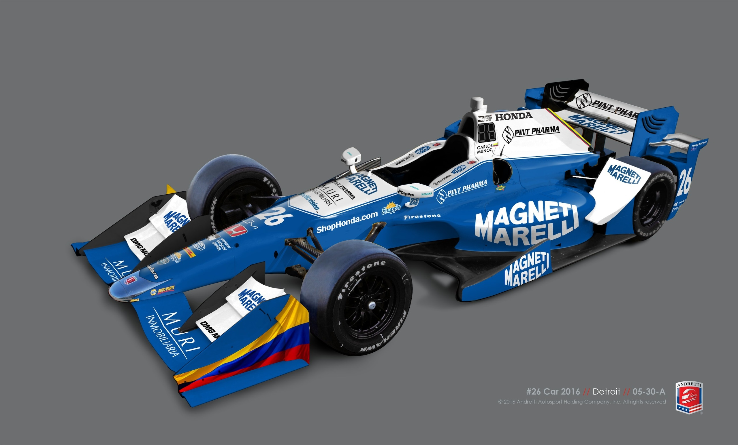 Magneti Marelli con Andretti Motorsport