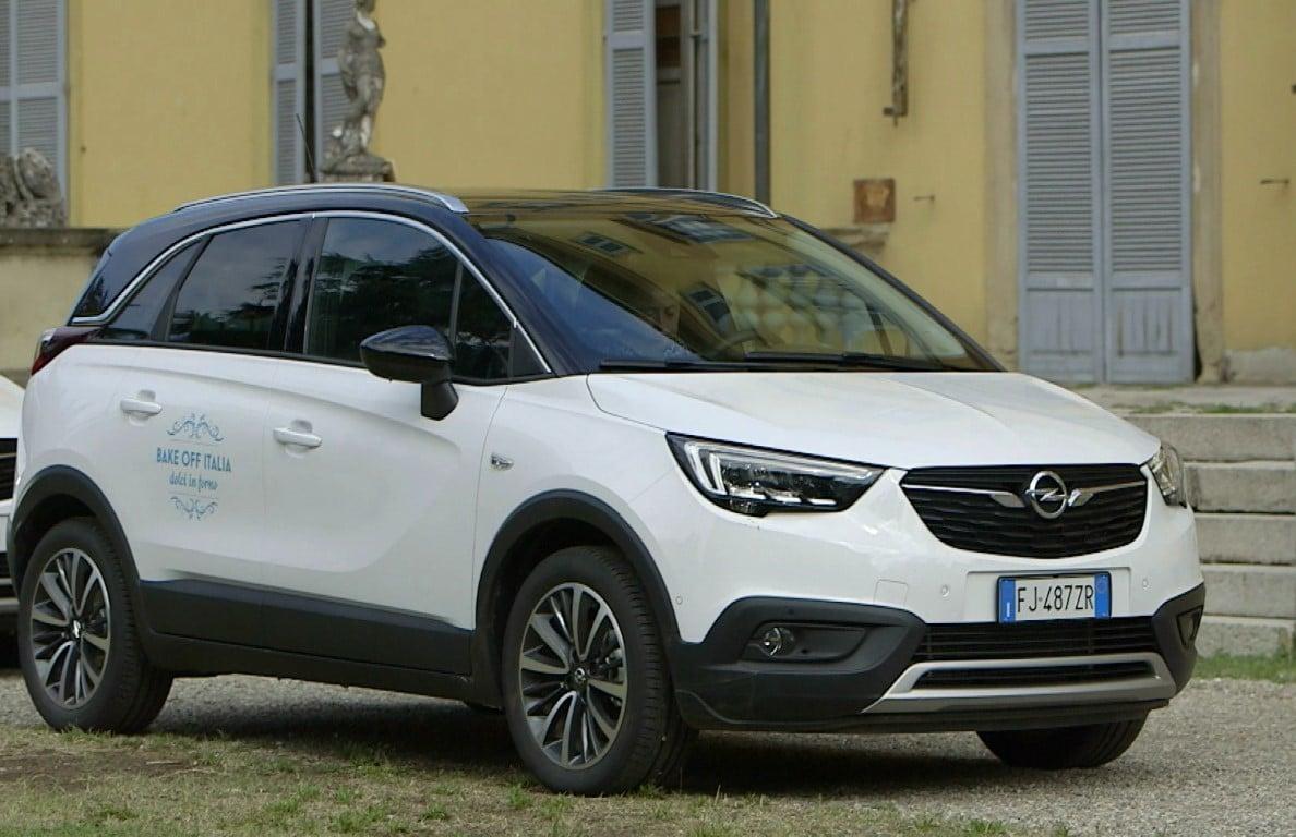 Opel Crossland X protagonista di Bake Off Italia