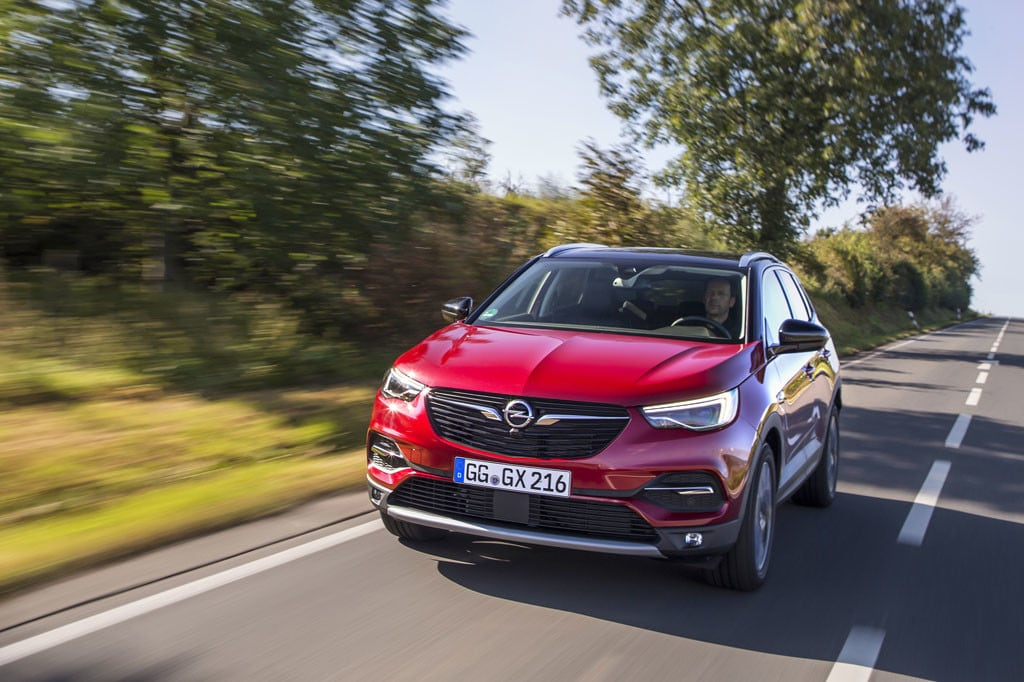 Opel Grandland X: foto