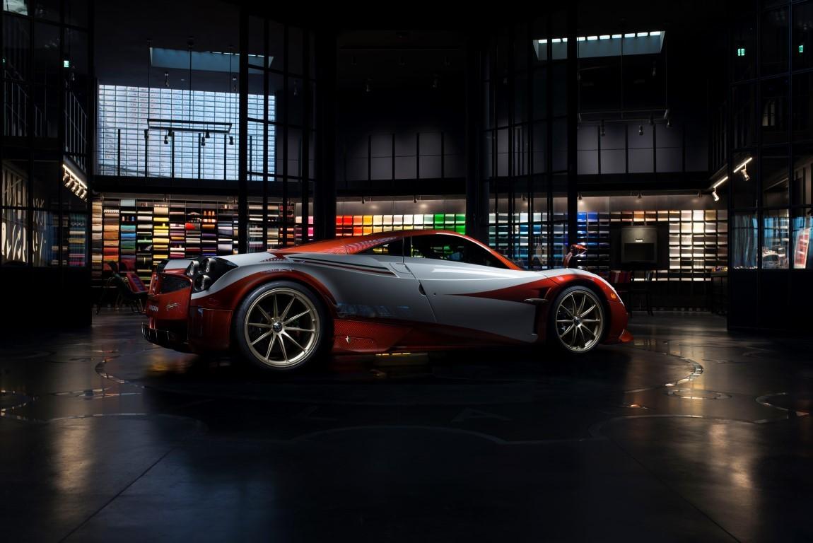 Pagani Huayra Lampo, one-off con Garage Italia Customs