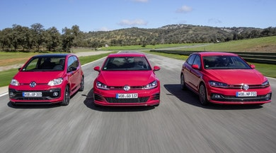 Generazione GTI, in pista con up!, Polo e Golf