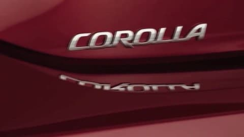 Nuova Toyota Corolla 2019: video