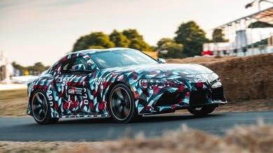 Nuova Toyota Supra, il sound del 6 cilindri prepara il debutto