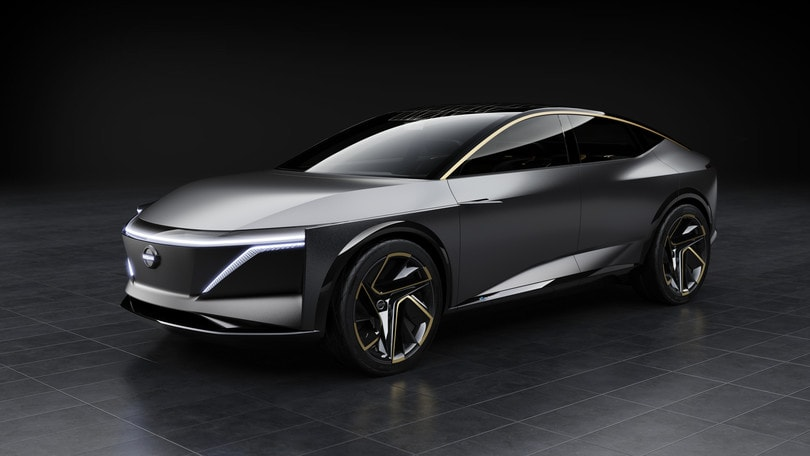 Nissan IMs Concept, berlina elettrica a Detroit