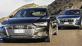 Su Auto in edicola: Audi A6 Avant e Audi Q8 a confronto