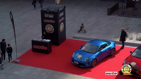 Auto dell'anno 2019: test drive a Milano