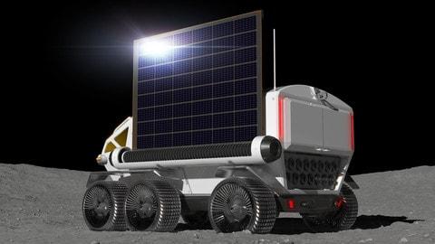 JAXA e Toyota sulla Luna: le foto