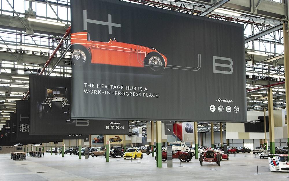 FCA Heritage Hub, storia in vetrina a Torino