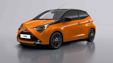 Toyota Aygo Connect: Foto