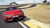 Toyota Supra: il test sulla pista di Jarama VIDEO e FOTO