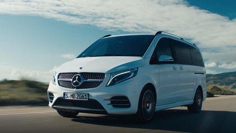 Nuova Mercedes Classe V: il primo test VIDEO