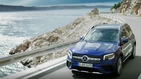 Mercedes GLB 2019: il video