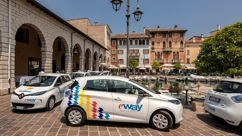 E-Way, car sharing green sul Lago di Garda: le foto