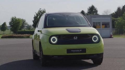 Honda e Prototipo: video