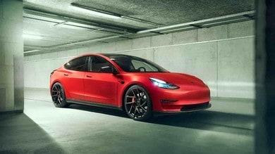 Tesla Model 3, Novitec la fa più cattiva