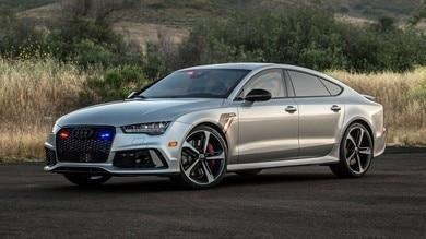 Audi RS 7 Sportback, l'auto blindata più veloce