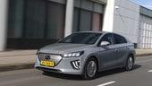 Hyundai Ioniq Electric, la prova su strada