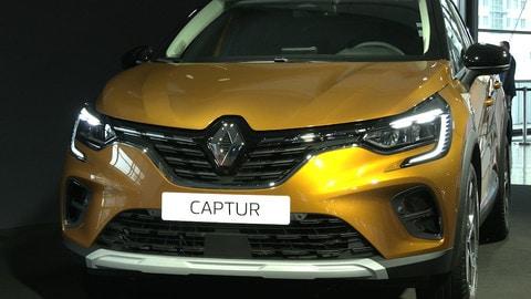 Renault Captur, Salone di Francoforte 2019: VIDEO