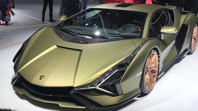 Lamborghini Siàn FKP 37, ibrida da 819 cavalli