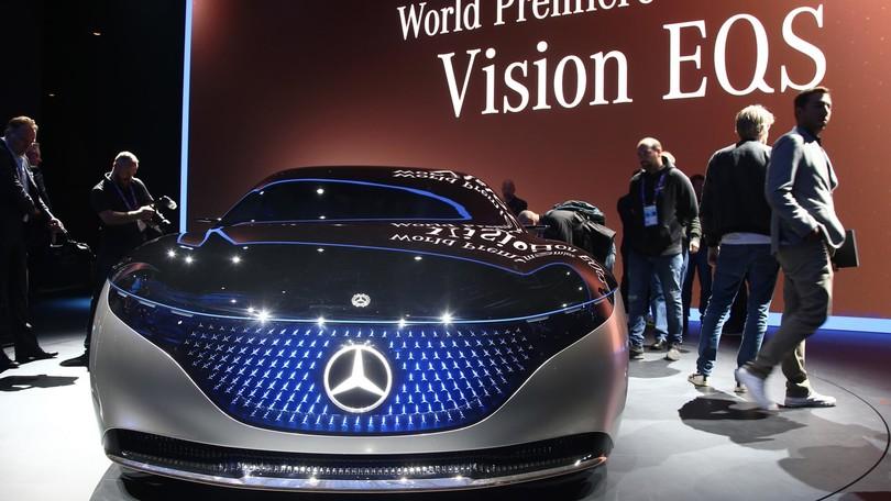 Mercedes Vision EQS, come cambia l'ammiraglia