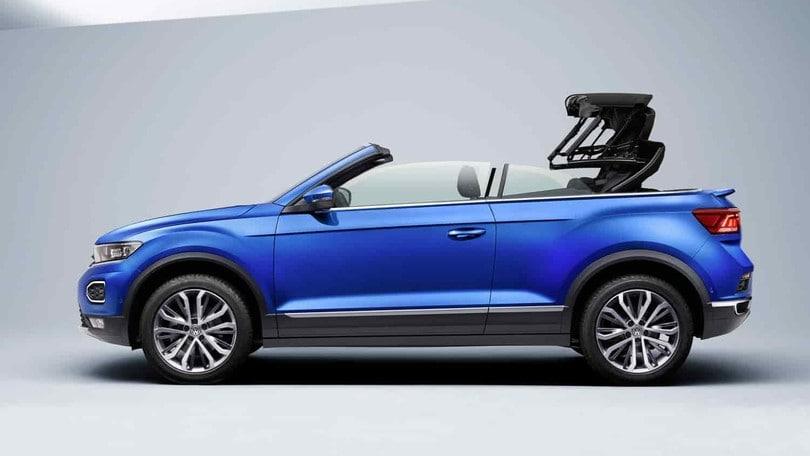 Volkswagen T-Roc Cabriolet, non solo elettriche da Wolfsburg