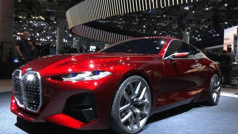 BMW Concept 4 al Salone di Ginevra 2019: VIDEO