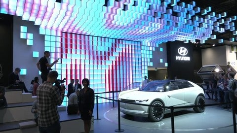 Salone di Francoforte 2019, Hyundai 45 EV: VIDEO
