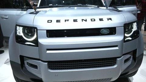 Nuova Land Defender, il design con Massimo Frascella: VIDEO