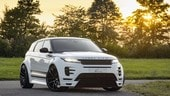 Range Rover Evoque, il tuning Lumma inizia dal body-kit
