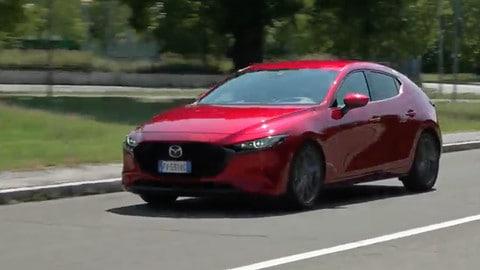 Mazda 3 1.8 D, la prova su strada: VIDEO