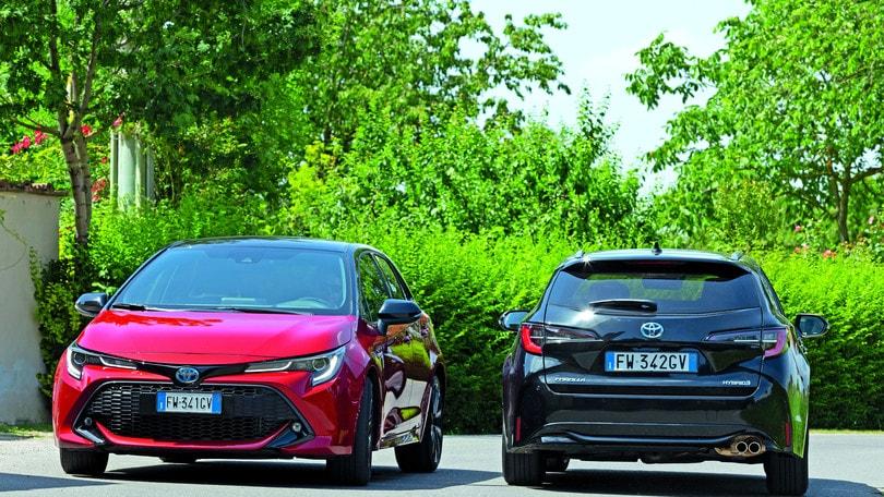 Toyota Corolla Hybrid: berlina o station wagon, quale scegliere?