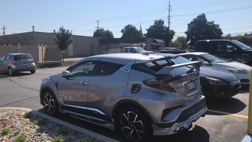 Toyota CH-R, tuning più cromato che mai