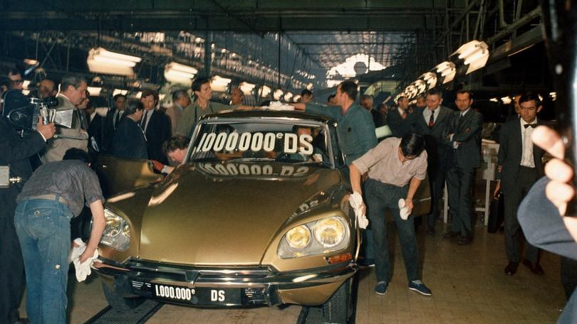 Citroën DS, 50 anni fa nasceva il milionesimo esemplare