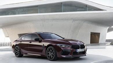 BMW M8 Gran Coupé Competition, performance e lusso