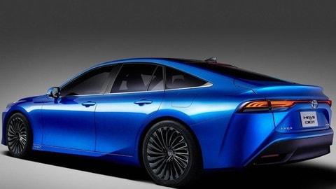 Toyota Mirai Concept 2020: foto