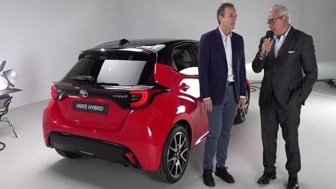 Nuova Toyota Yaris: intervista a Mauro Caruccio