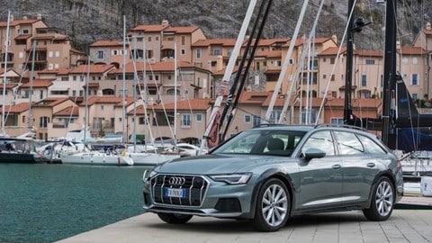 Audi A6 Allroad, il test: FOTO