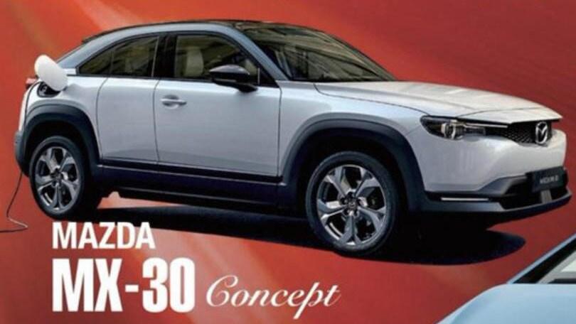 Mazda, il concept elettrico è MX-30?