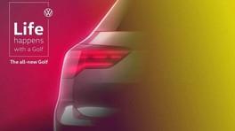 Volkswagen Golf 8, l'ultimo teaser prima del reveal