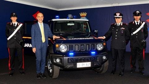 Suzuki Jimny dei Carabinieri: FOTO