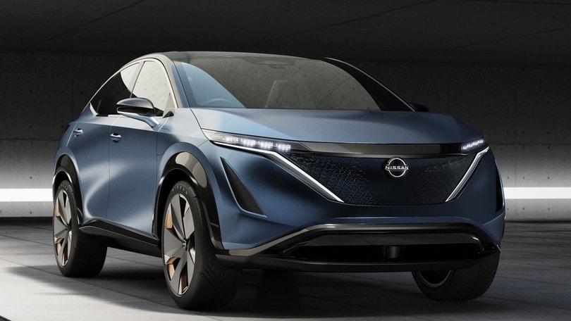 Nissan Ariya Concept, a Tokyo prove di Qashqai elettrico