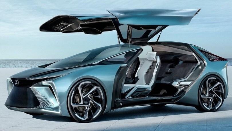 Lexus LF-30 Electrified Concept, un salto nel 2030 al Salone di Tokyo