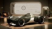 Toyota e-Racer concept, l'auto emozionale nell'era della guida autonoma